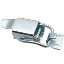 Stainless steel draw latch / rigid / with constant fastening