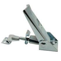 Stainless steel draw latch / adjustable / rigid / with constant fastening