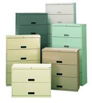 Storage cabinet / multi-drawer / floor-standing / steel