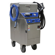 Steam cleaner / three-phase / mobile / high-pressure