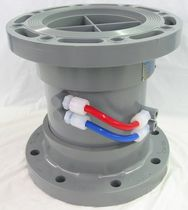 Differential pressure flow meter / pitot tube / for gas / for air