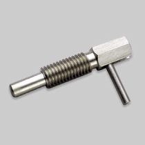 Retractable plunger / spring / stainless steel / hand-held
