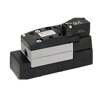 Spool pneumatic directional control valve / electrically-operated / 3/2-way