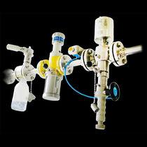 Syringe with piston