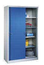 Storage cabinet / sliding door / floor-standing / steel