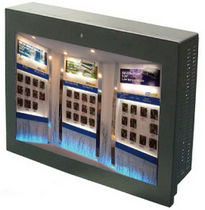 Panel PC with touch screen / LED backlight / Intel® Atom / fanless