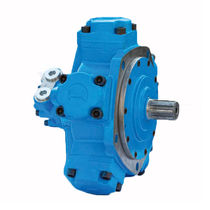 Radial piston hydraulic motor / fixed-displacement / for heavy-duty applications