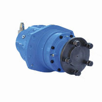 Radial piston hydraulic wheel motor / fixed-displacement / double-displacement / compact