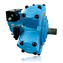 Radial piston hydraulic motor / double-displacement / two-speed