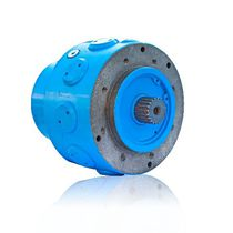 Radial piston hydraulic motor / fixed-displacement / compact / double-displacement