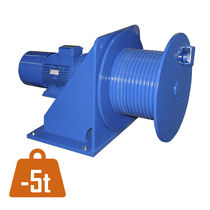 Electric winch / for cranes / compact / planetary