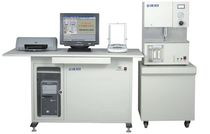 Analyzer / carbon and sulfur / for organic material / infrared / rack-mount