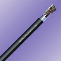 Data electrical cable / multi-conductor / twisted pair / copper