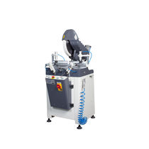 Miter saw / for PVC / for plastics / for aluminum
