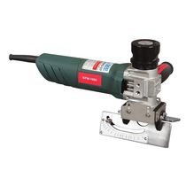 Hand-held chamfering machine / electric / sheet metal / for pipes