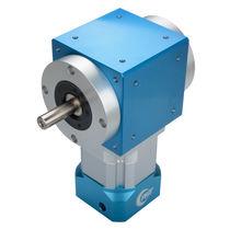Bevel gear reducer / orthogonal / precision / for servo motors