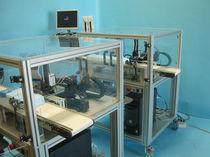 Robotic test cell / gauge / for plastic parts