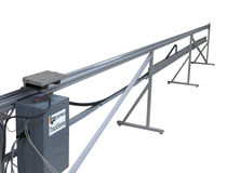 High moving speeds linear guide / track