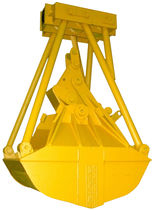 Clam bucket / for bulk materials