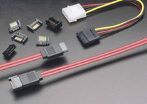 Board-to-wire connector / SATA / rectangular