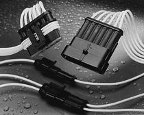 Rectangular connector / waterproof / for the automotive industry