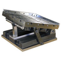 Electro-permanent magnetic chuck / sine table / for grinding