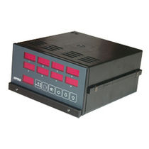 Temperature controller with LED display / panel-mount