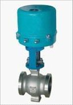 Ball valve / regulating / electrically operated