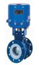 Ball valve / injection / electrically operated / for water
