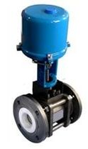Ball valve / control / electrically operated / for steam