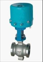 Regulating valve / electrically operated