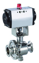 Ball valve / control / pneumatic / petroleum