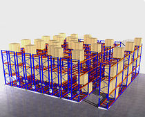 Pallet shelving / mobile / order picking / automated