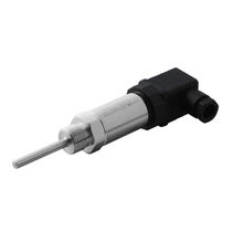 Resistance temperature sensor / Pt100 / threaded / flange