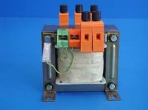 Power transformer / encapsulated / laminated / for printed circuit boards