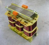 Three-winding transformer / floor-standing / three-phase / for medical applications