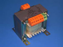 Power transformer / laminated / printed circuit board / single-phase
