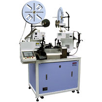 Wire crimping machine / connector / fully automatic / compact