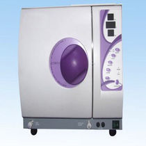 Laboratory sterilizer / heat / horizontal