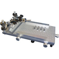 Electronic stencil printer / automatic / flat bed