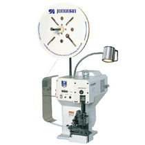 Wire crimping machine / automatic / electromechanical / rotary