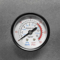 Analog pressure gauge / for compressed gas / process