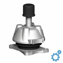 Conical anti-vibration mount / rubber / for pumps