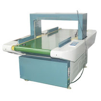 Gravity metal detector / for conveyors / for fabric / for shoes