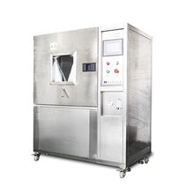 Sand corrosion test chamber / dust / with window / stainless steel