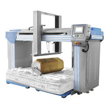 Durability testing machine / for mattresses / roller