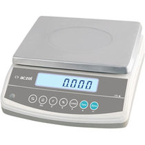 Benchtop scale / counting / with LCD display / stainless steel pan