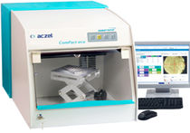 Fluorescence spectrometer / compact / with optical microscope / for metal sorting
