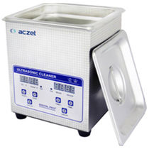 Ultrasonic cleaning machine / automated / with basket