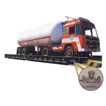 Vehicle weighbridge / steel / rugged / electronic